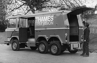 Stonefield P3000 6x4 Thames TV production van 1979. Creator: Unknown.