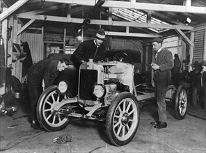 1923 Taylor being manufactured in factory. Creator: Unknown.