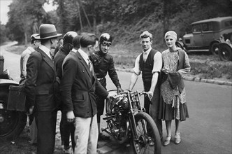 Brough Superior, Le Vack, Montlhery 1924. Creator: Unknown.