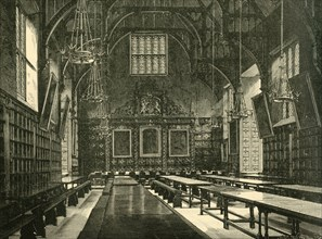 'Hall of Trinity College', 1898. Creator: Unknown.