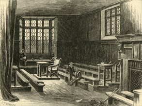 'Interior of the Old School-Room', 1898. Creator: Unknown.