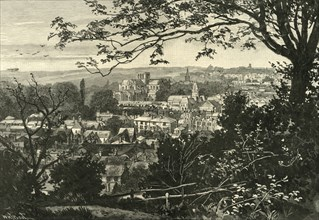 'General View of Winchester', 1898. Creator: Unknown.