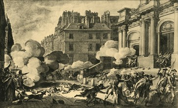 'Day of 13 Vendemiaire of the Year 4', 1797, (1921). Creator: Isidore-Stanislas Helman.