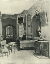 Louis XV's bedchamber, carried out by Maison Soubrier, (1903). Creator: Unknown.