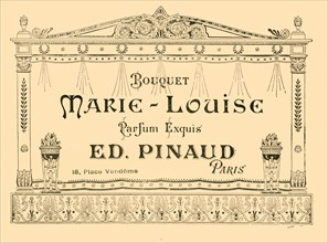 Advertisement for 'Marie-Louise' perfume, 1903. Creator: Unknown.