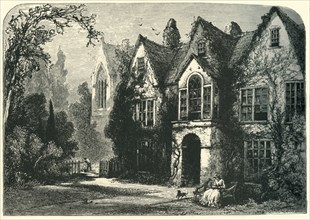 'Raleigh's House at Youghal', c1870.