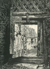 'A Peep through the Gateway, Chepstow Castle', c1870.