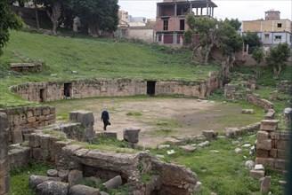 Algeria, Cherchell, Amphitheatre