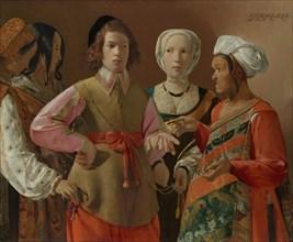 The Fortune-Teller, probably 1630s. Creator: Georges de la Tour.