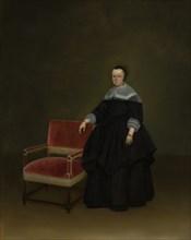 Margaretha van Haexbergen (1614-1676), ca. 1666-67. Creator: Gerard Terborch II.