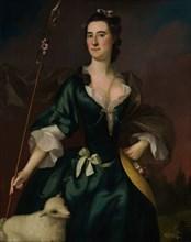 Mary Sylvester, 1754. Creator: Joseph Blackburn.