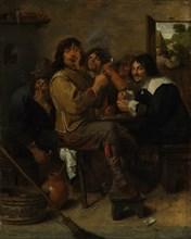 The Smokers, ca. 1636. Creator: Adriaen Brouwer.
