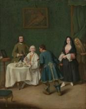 The Temptation, 1746. Creator: Pietro Longhi.