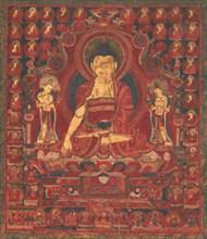 "Buddha Shakyamuni as ""Lord of the Munis"", mid-17th century. Creator: Unknown."