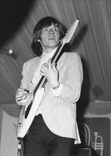 Brian Jones, Rolling Stones, Richmond Jazz and Blues Festival, London, 1964. Creator: Brian Foskett.