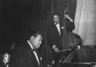 Oscar Peterson and Trio, c1965. Creator: Brian Foskett.