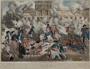 La prise des Tuileries, 1792