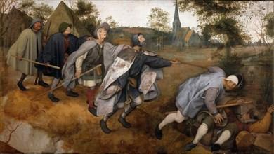 The Blind Leading the Blind, 1568. Creator: Bruegel (Brueghel), Pieter, the Elder (ca 1525-1569).