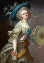 Portrait d'une danseuse, c. 1780. Creator: Vigée Le Brun, Louise Élisabeth (1755-1842).