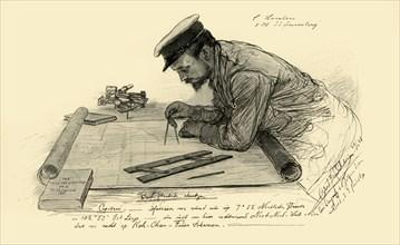 A Hansen, first officer on the 'Knivsberg', 1898.  Creator: Christian Wilhelm Allers.