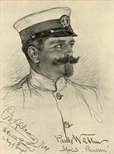Paul Wettin - crew member on the 'Preussen', Bay of Bengal, 1898. Creator: Christian Wilhelm Allers.