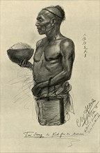 Tai Sang - cook on the 'Knivsberg', 1898.  Creator: Christian Wilhelm Allers.