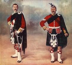 'The Cape Town Highlanders', 1900. Creator: JE Bruton.