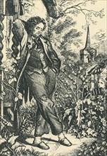 'The Sluggard', 19th century, (1943).  Creator: Henry Fitzcook.