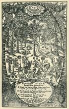 The Garden of Eden, 1629, (1944).  Creator: Unknown.