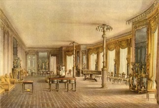 The North Drawing-Room, Royal Pavilion, Brighton, East Sussex, 1824, (1946).  Creator: John Nash.