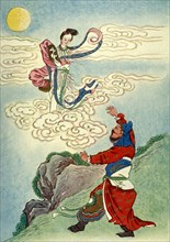 'Heng O Flies to the Moon', 1922. Creator: Unknown.