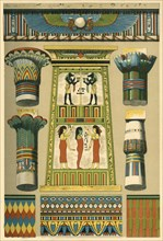 Ancient Egyptian decoration, (1898).  Creator: Unknown.