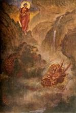 'Buddha and the Dragon', 1912. Creator: Evelyn Paul.