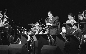 Peter King, Don Weller Big Band, Gardner Centre, Brighton , May 1996. Creator: Brian O'Connor.