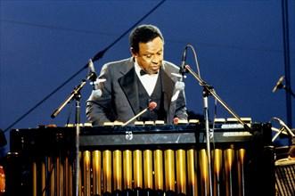 Lionel Hampton, Knebworth Jazz Festival, Knebworth, Herts, July 1982. Creator: Brian O'Connor.