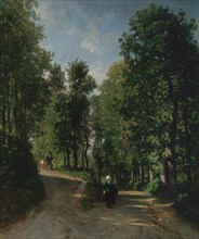 Road in the Woods, mid-1840s. Creator: Constant Troyon.