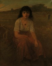 The Quadroon, 1880. Creator: George Fuller.