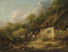 The Bell Inn, late 1780s. Creator: George Morland.