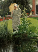 Spring Morning, ca. 1875. Creator: James Tissot.
