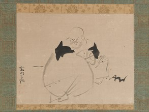 Hotei, after 1704. Creator: Ogata Korin.
