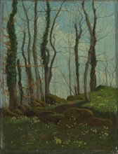Spring in Brittany, 1874. Creator: Paul Sébillot.