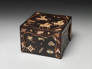 Seal Box with Hunters on Horseback, 17th-18th century. Creator: Unknown.