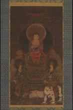 Shaka (Shakyamuni) Triad, 13th century. Creator: Unknown.