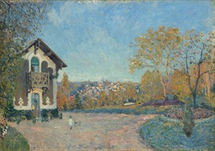 View of Marly-le-Roi from Coeur-Volant, 1876. Creator: Alfred Sisley.