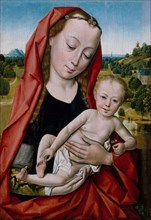Virgin and Child, 1475-99. Creator: Workshop of Dieric Bouts (Netherlandish, Haarlem, active by 1457-died 1475).