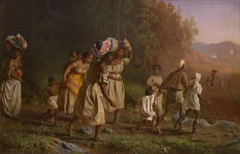 On to Liberty, 1867. Creator: Theodor Kaufmann.