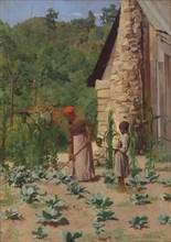 The Way They Live, 1879. Creator: Thomas Pollock Anshutz.
