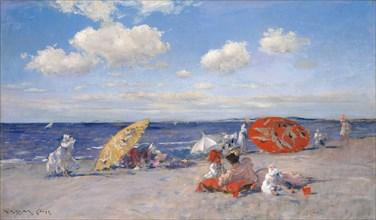 At the Seaside, ca. 1892. Creator: William Merritt Chase.