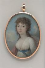 Portrait of a Lady, ca. 1805. Creator: Adolf Ulric Wertmüller.