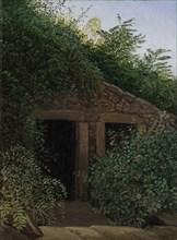 An Overgrown Mineshaft, ca. 1824. Creator: Carl Gustav Carus.